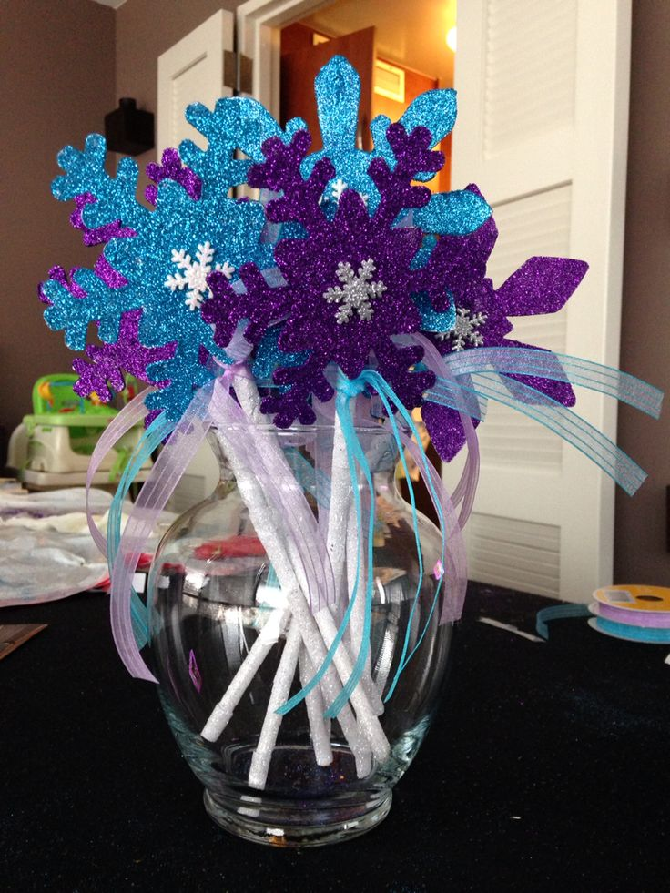 Magic Snowflake Wands