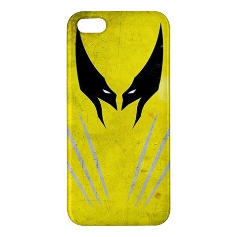 Wolverine Head and Chest iPhone 5 5s Hardshell Case Cover