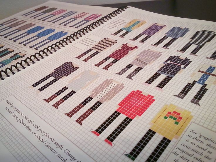 Do - It - Yourself Stitch People Book and Cross-stitch starter kit