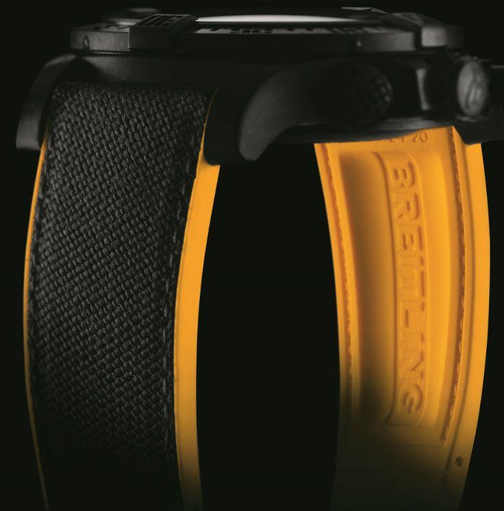 Breitling Avenger Hurricane Watch Featuring New Lightweight 'Breitlight' Polymer