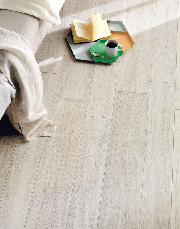 Full-body porcelain wood tiles Bio Plank - oak ice - Lea Ceramiche
