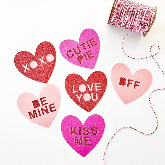 57 best Conversation Heart Valentine\'s Day Party! images on ...
