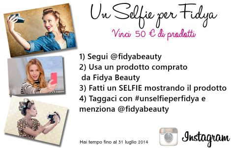 Concorso Fidya Beauty, Selfie
