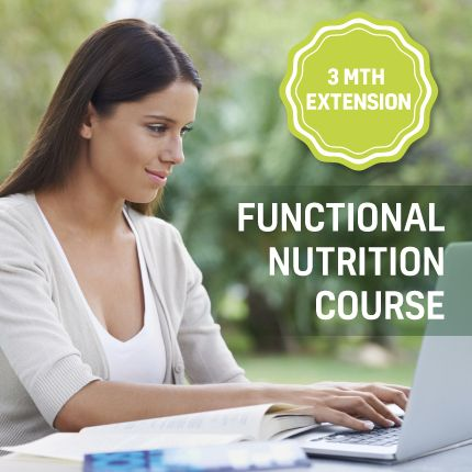Functional Nutrition Course – 3 months course extension