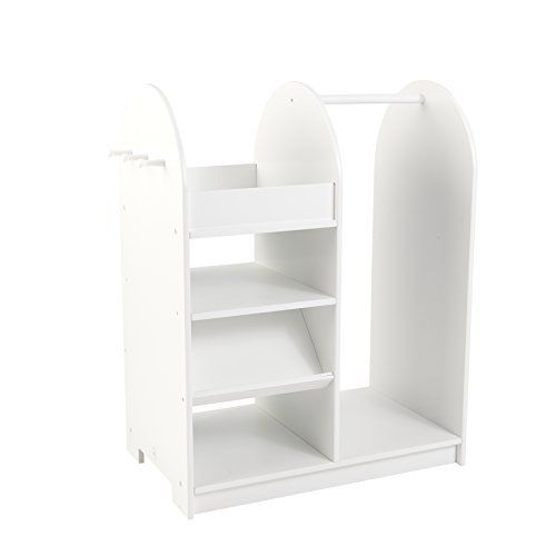Sometimes kids just need something extra special to keep their dress up play neat and tidy. With a bright white finish, our dress up unit is perfect for storing and organizing play clothes, shoes, toys and more. 100 Golf Tips EVERY Golfing Enthusiast Should Know! 100 Golf Tips with PLR, Ebook... more details available at https://furniture.bestselleroutlets.com/children-furniture/bookcases-cabinets-shelves/product-review-for-lets-play-dress-up-unit/