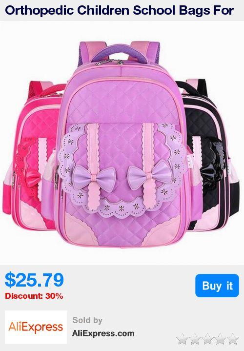 Orthopedic Children School Bags For Girls New 2017 Kids Backpack Book Bag Waterproof Backpack Child School Bag Mochila Escolar * Pub Date: 13:08 Apr 12 2017