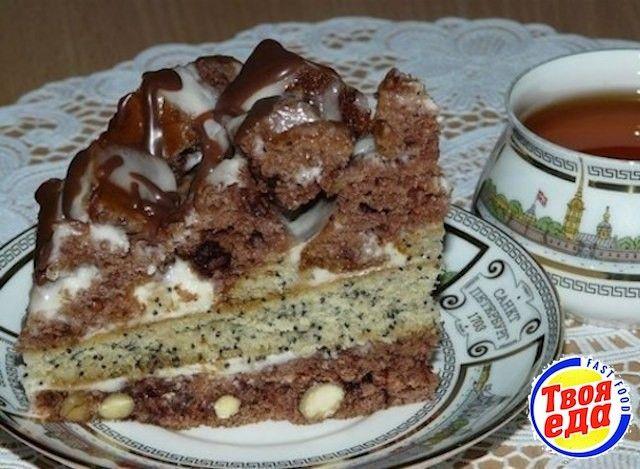 Царский шоколадный торт Екатерина - Кулинарные рецепты