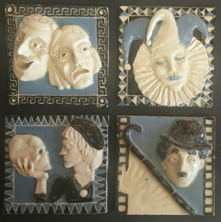 History of Performing Arts, clay tiles, 2012