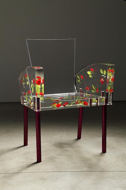 MODER CHAIR DESING | Miss Blanche Chair by Shiro Kuramata, design chair with modern flower  | www.bocadolobo.com/ #modernchairs #chairideas