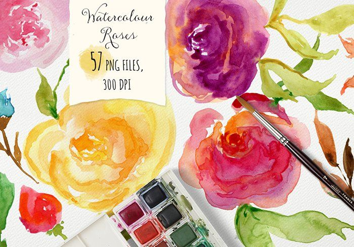 #ad The Super Watercolor Bundle - website designer