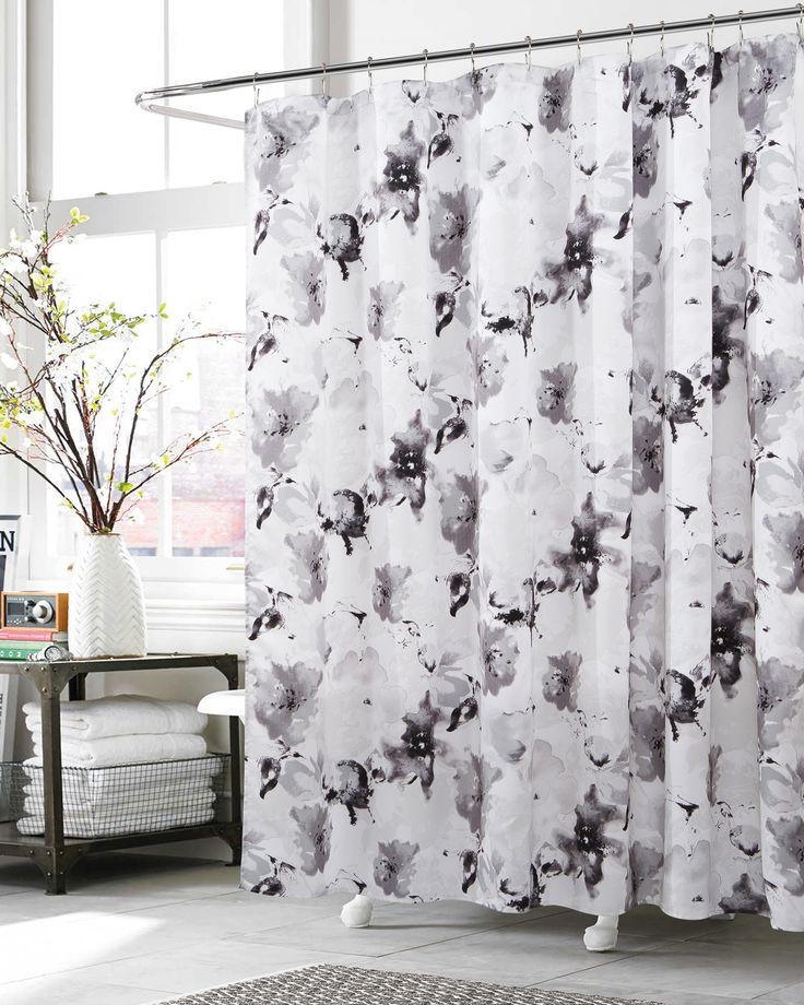 56 best Shower Curtains images on Pinterest   Bathrooms decor ...