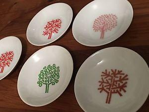 VTG FOUR SEASONS Restaurant NYC Rare Ashtrays Butter Dishes 4 Full Set  | eBay