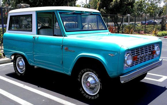 Clean Stocker: Restored 1968 Ford Bronco Delivery Model