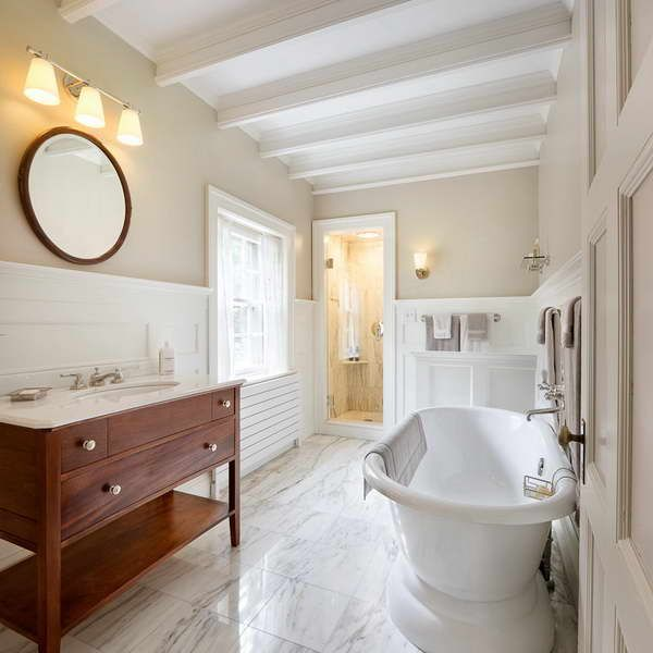 Beadboard Ceiling Bathroom: 17 Best Ideas About Wainscoting In Bathroom On Pinterest