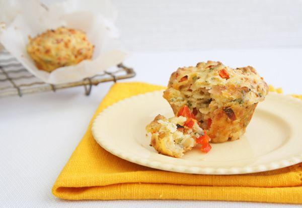Savoury Muffins - A tasty snack, my kids love them, I make mini ones for their lunch box.