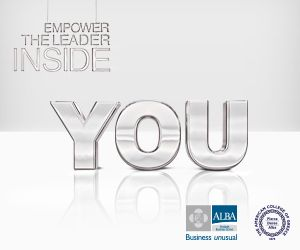 """""""Are you a Worrier or a Warrior? Advance Your #Career with The ALBA #MBA"""" Join our May 17 Info Session"""