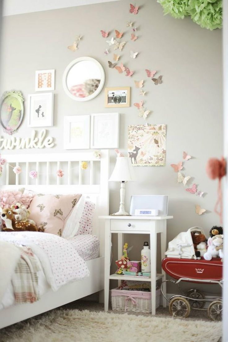 Girls Room Ideas: 40 Great Ways to Decorate a Young Girl's Bedroom 5-2