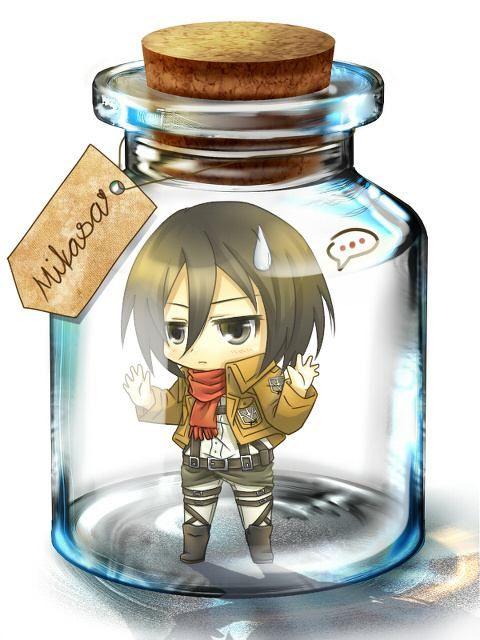 Chibi!Mikasa