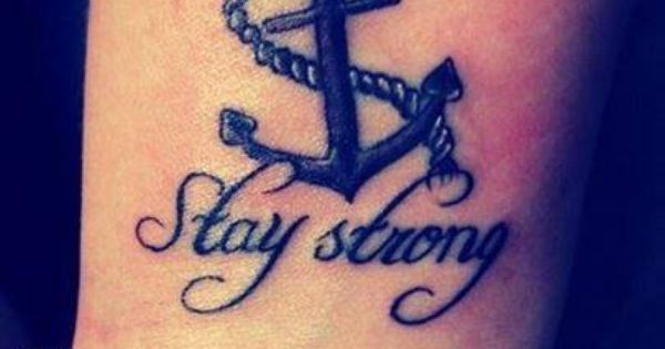 Stay strong Anchors and Sisters on Pinterest