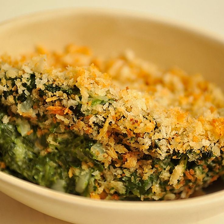 Spinach Gratin recipe on Food52
