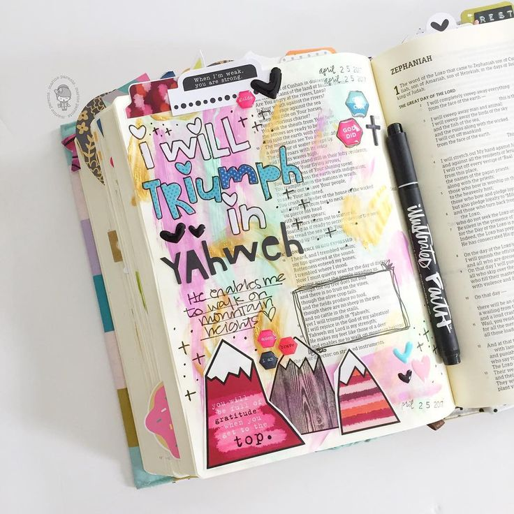 Bible Journaling by @marine_parents