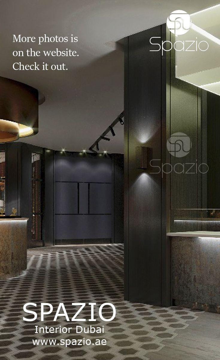 Modern restaurant interior design and decor was