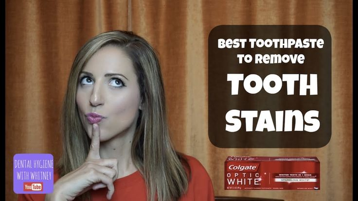 Colgate optic white the best toothpaste for removing