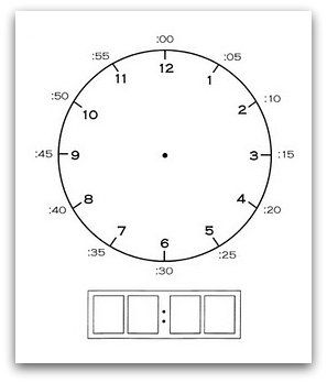 Relentlessly Fun, Deceptively Educational: Complete-A-Clock Printable