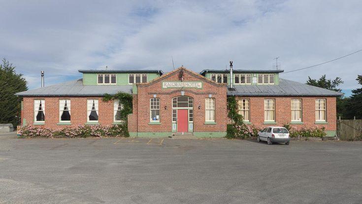 Mossburn Railway Hotel, Southland, New Zealand