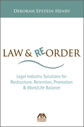 Law & Reorder is two books in one. Part I focuses on the needs of legal employers, providing solutions for the changes facing the legal industry. These include the threat to the billable hour, the rise of new models of practice, the morphing of large law firms, the development of talent management strategies, and the creation of work/life and women-friendly employers. Part II is directed to lawyers and law students.