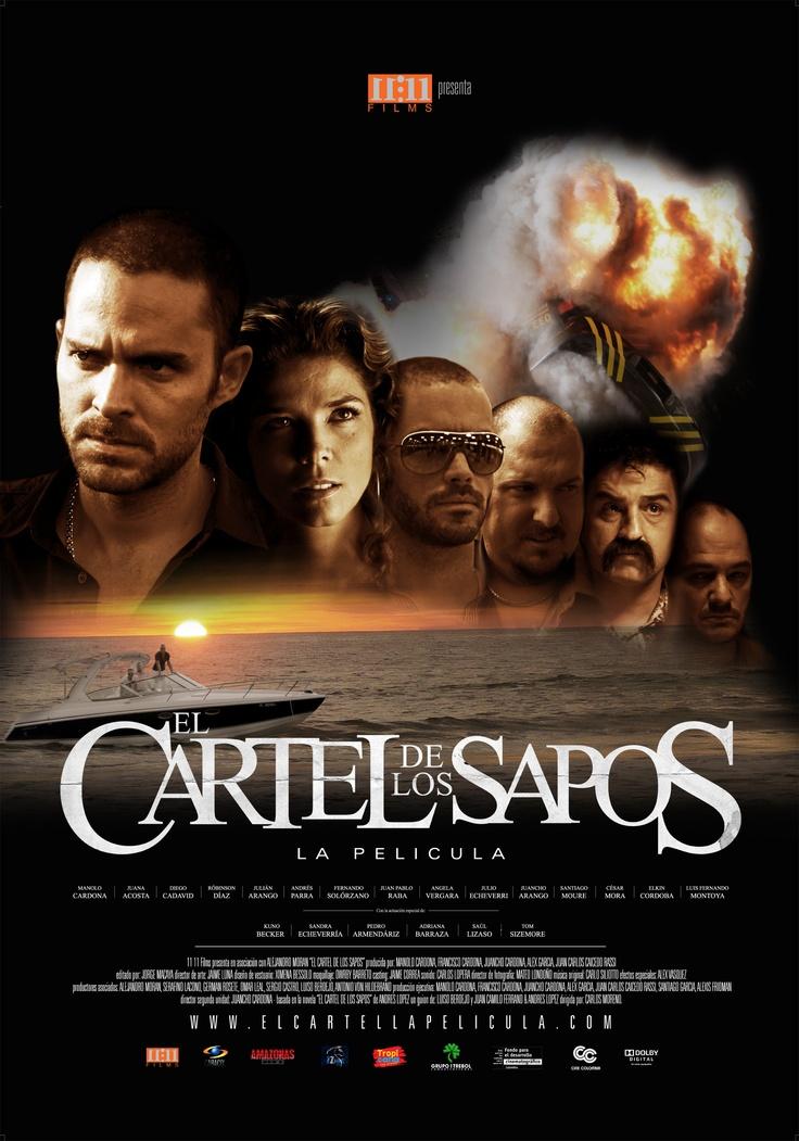 Afiche oficial 'El cartel de los sapos'
