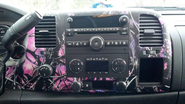 muddy girl pink camouflage car interior muddy girl camo pinterest cars posts and trucks. Black Bedroom Furniture Sets. Home Design Ideas