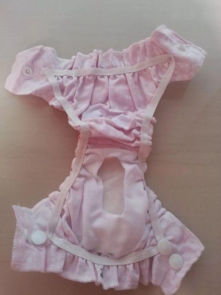 calcinha higiênica rosa para cachorro roupinha pet promoção