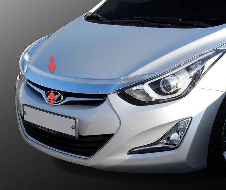 Hyundai ELANTRA 2011-2015 Chrome Front Bonnet Hood Guard Garnish Molding MD  #  We can provide you on eBay at http://stores.ebay.com/gibson-brown/Elantra-2011-2015-MD-/_i.html?_fsub=14854798018