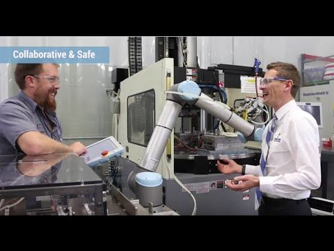 Users from many different industries explain how the UR collaborative robots' five unique selling points benefit their production. Watch what Fast Setup, Easy Programming, Collaborative & Safe, Flexible Deployment and Fastest Payback Period look like in real life.