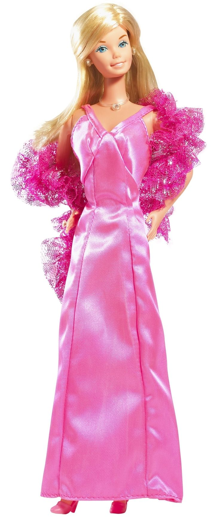 Barbie Annee 80, Enfance, Barbie Girl, Poupées Barbie, Vêtements De Barbie,  Jouets 1970, Barbie Trucs, Poupées De Vie, Robe Rose