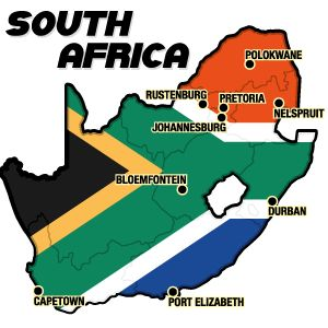 I grew up in Johannesburg; vacationed in Durban and Cape Town; and the Kruger National Park is near Nelspruit
