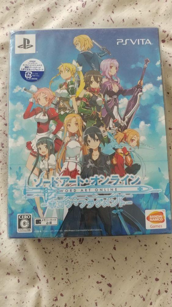 Original Game Cases & Boxes Ps4 Sword Art Online Fatal Bullet Japan Sony Playstation 4 Steel Book Japan