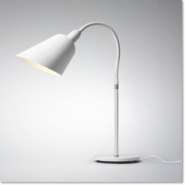 Hvid AJ3 bordlampe fra &tradition