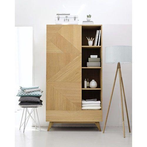 Armadio in legno L 105 cm