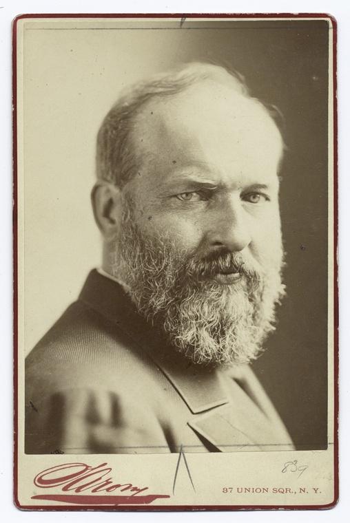 James Garfield  20th President: 1881