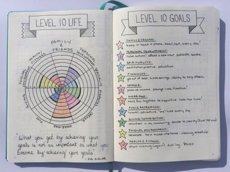 Level 10 Life - 100 Goals in 10 Areas of Focus | Boho Berry