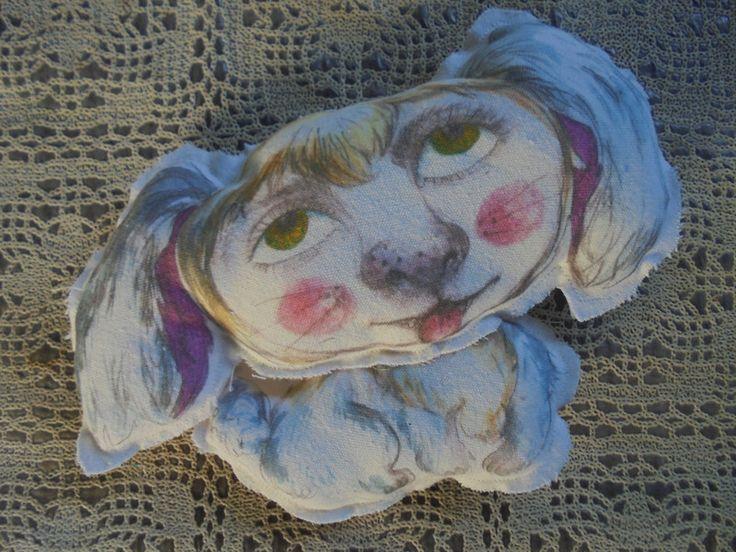 Deko-Objekte - das Hundchen... - ein Designerstück von feicht bei DaWanda