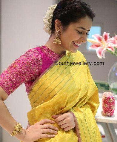 Raashi Khanna in Tibarumal Jewels photo