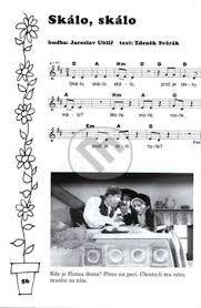 Výsledek obrázku pro písnička lečo noty