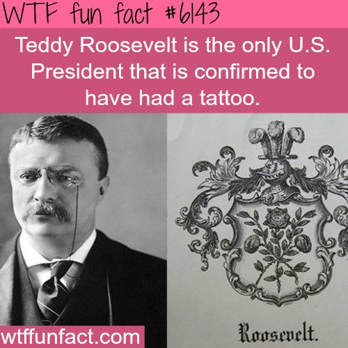 Presidents who had tattoos - WTF fun facts