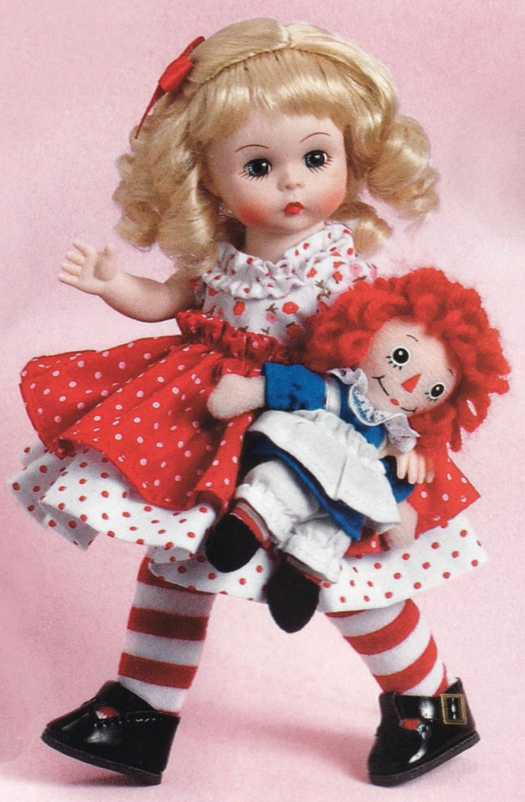Raggedy Ann and Me! from Madame Alexander