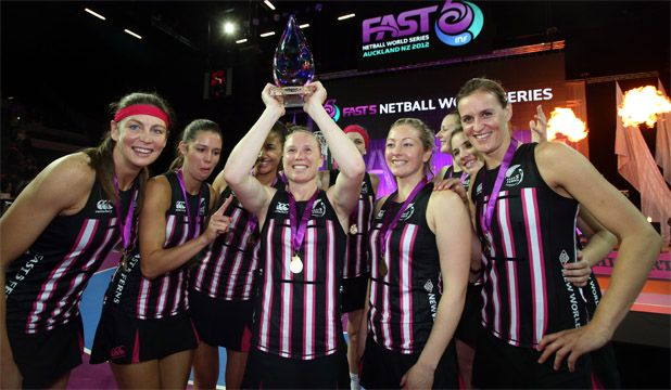 2012 - Excited Fast5 Ferns have their dancing shoes on