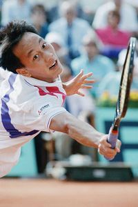 Sept 1, 1987 - 15 yr old Michael Chang is youngest man to win U.S. Tennis Open match