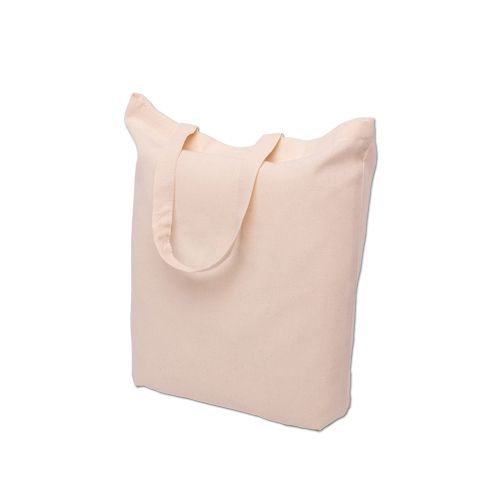 Natural cotton bags with short handle